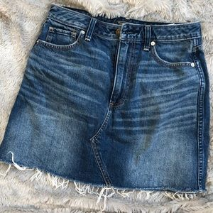 Abercrombie denim mini